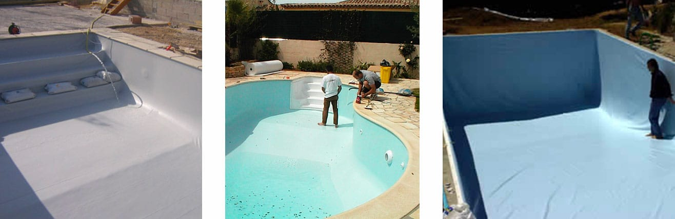 piscine o jardin liner ou pvc arm coup sur mesure pour r novation de votre piscine. Black Bedroom Furniture Sets. Home Design Ideas