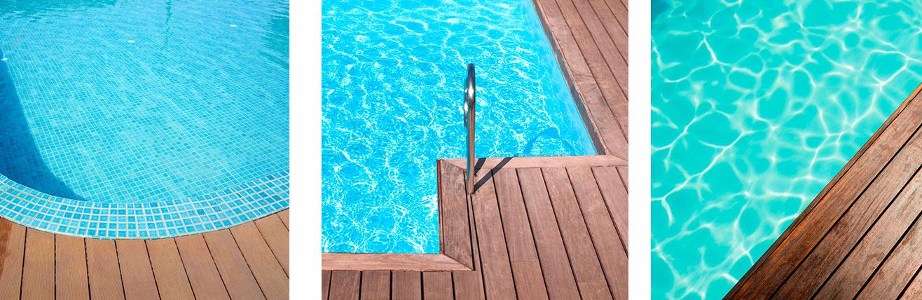 Piscine o jardin terrasses en bois piscine o jardin for Reglementation piscine